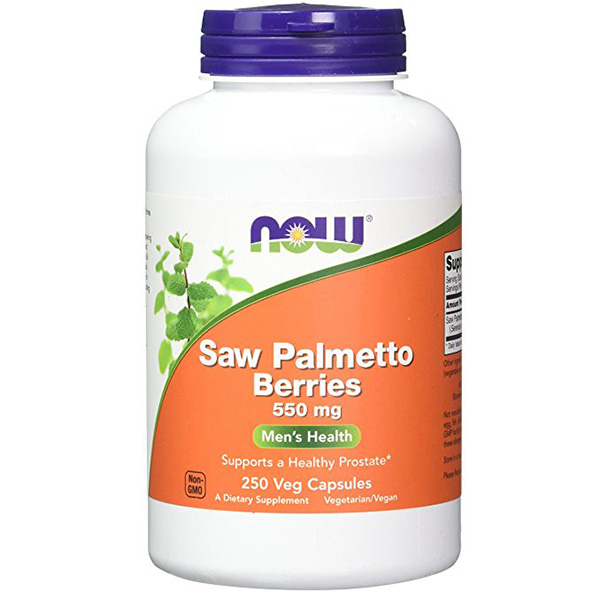 Saw Palmetto Berries, 500 mg, 250 VCaps